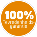 100% tevredenheisgarantie